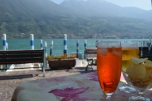Aperitivo at Lago d'Iseo